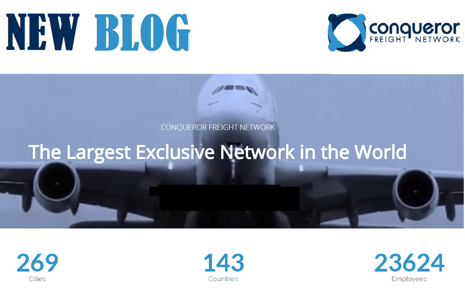 Blog of Conqueror Freight Network