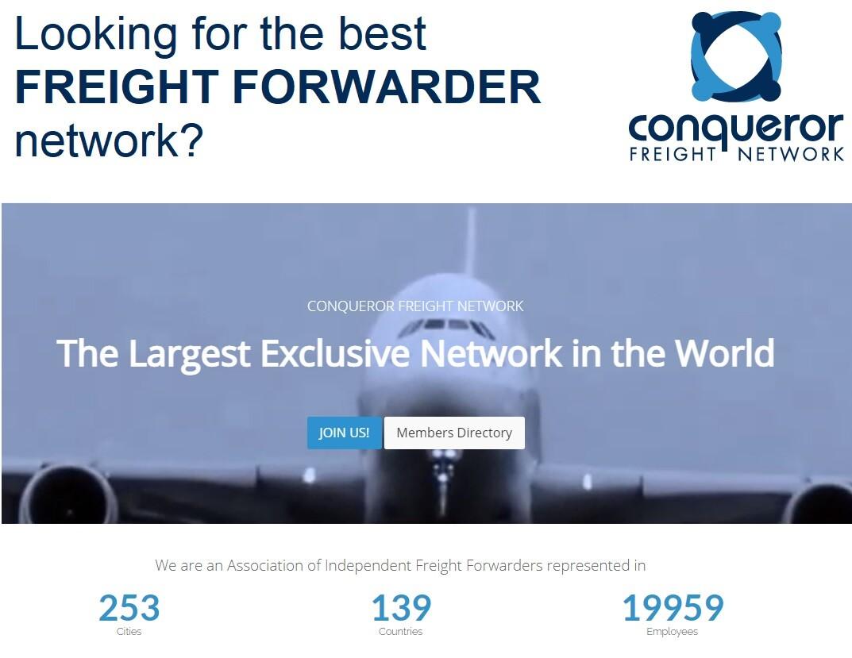 Conqueror - Best Freight Forwarder Network