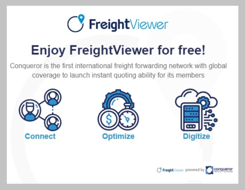 freight management software - FreightViewer