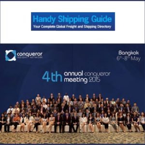 Freight forwarders gather for annual conference- Handy Shipping Guide