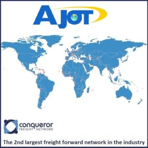 AJOT – Conqueror: 2nd largest forwarder network