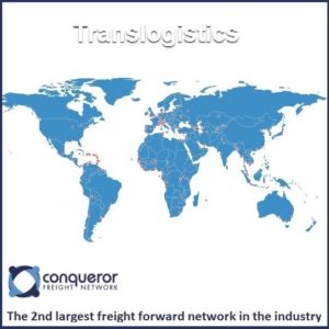 Translogistics: Conqueror- 2nd largest freight forwarder network