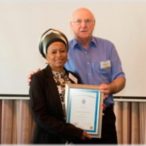Staff member scoops top award for 'Understanding Shipping Course'