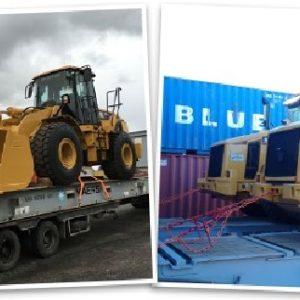CQR Athens ships JCB vehicles to Nigeria
