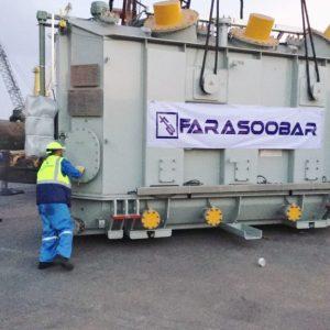 CQR Bandar Abbas & Tehran moves 50 ton power plant unit