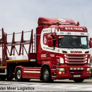 Van Moer Logistics moves into top gear with increased road fleet