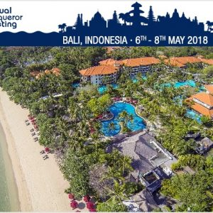 Conqueror's 7th Annual Meeting will be held in Bali from 6th to 8th May 2018