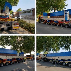 CQR Stuttgart achieves a remarkable feat by moving oversized shred press