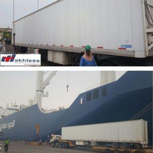 CQR Manama/Bahrain ships mobile firearms range of 20 tons/174 cbm