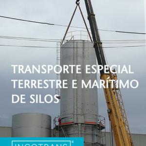 CQR member in Lisbon successfully moves 6 meter tall container from Portugal to Angola