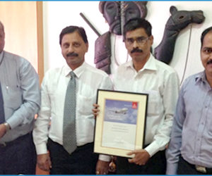 CQR Mumbai receives top agent award