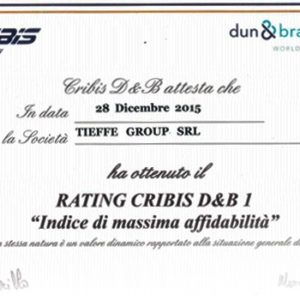 Dun and Bradstreet awards CQR Livorno top rating