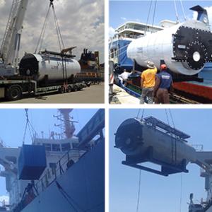 CQR Athens, Piraeus anchorage delivery