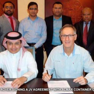 Almar Container Group partners with CQR Dammam