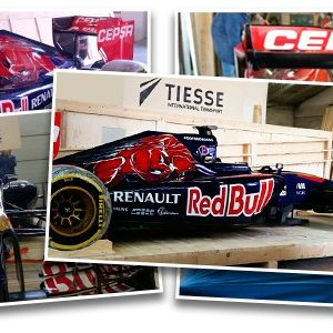 CQR Milan ships F1 Toro Rosso