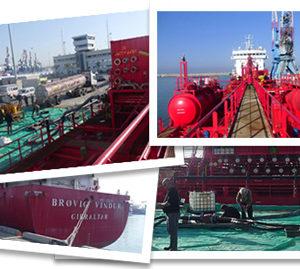 CQR Tel Aviv discharges tanker Brovig Vindur