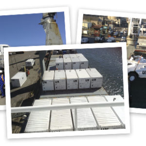 CQR Durban handles major UN shipment