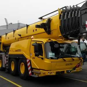 CQR Bremen ships a 72-ton Grove Telescopic All Terrain Crane and 105 tons of equipment