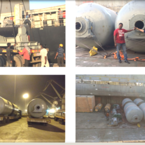 CQR Ahmedabad once more proves their worth by handling a break-bulk project cargo of 60 mt