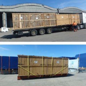 CQR Durban/ Johannesburg and CQR Riga/Klaipeda teams up for several general and OOG cargo transportation