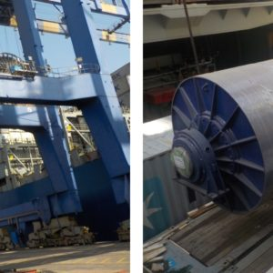 CQR Ahmedabad moves a gigantic ball mill from Mundra port