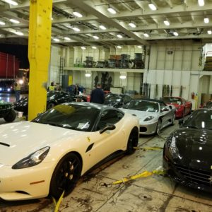 CQR Dallas handles the shipment of 11 luxury vehicles for Boardwalk Ferrari in Plano