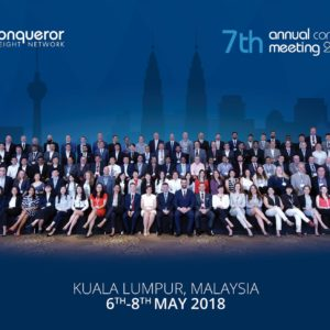 Conqueror's 7th Annual Meeting attracts nearly 130 forwarders to Kuala Lumpur