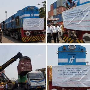 CQR Bangalore & Pune, the logistics provider for the rail-to-road route meant for India – Nepal