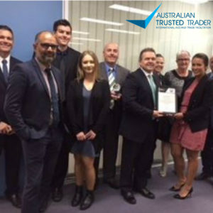CQR Melbourne has been awarded the Australian Trusted Trader Dome and Certificate