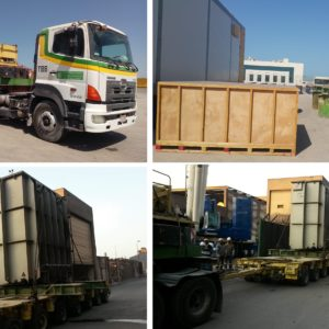 Conqueror Jeddah successfully moves a complex project cargo consisting of transformers and case accessories