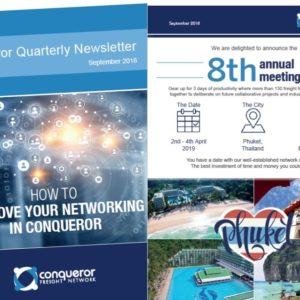 The autumn edition of Conqueror Newsletter has now been published!