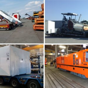 CQR Bremen moves 5 wind farm flanges from Antwerp to Roermond