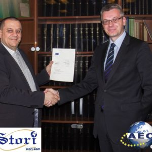 Conqueror Ljubljana, Slovenia, acquires the AEO Certificate