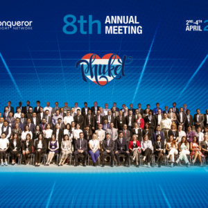 Conqueror's 8th Annual Meeting concludes successfully with over 120 attending members