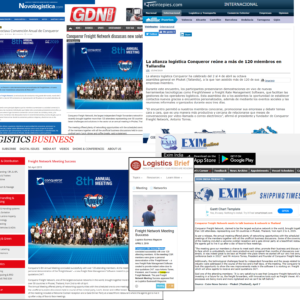 Conqueror's 8th Annual Meeting has been extensively covered by various popular web journals of the maritime and logistics sector