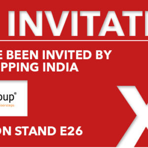 Conqueror member in Bangalore and Pune, India, is about to participate in the Antwerp XL Trade Fair