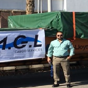Conqueror Cairo handles a project cargo consisting of a new production line for one of their partners