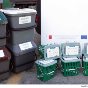 Conqueror Valletta works as the logistics service provider for a waste management initiative by the government