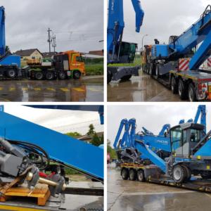 Conqueror Belo Horizonte ships a Terex equipment from Antwerp, Belgium, to Rio de Janeiro, Brazil