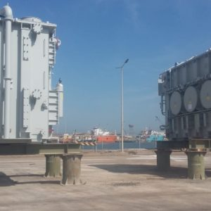 Conqueror Jeddah moves a cargo of 182,000 Kg from Dammam Seaport to Ras Al Quraya