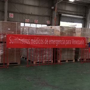 CQR Porto moves 12 tons of medical equipment from Pudong, China, to Caracas, Venezuela