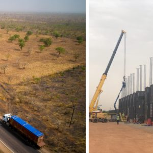 CQR Accra ships a 50 megawatt temporary power plant