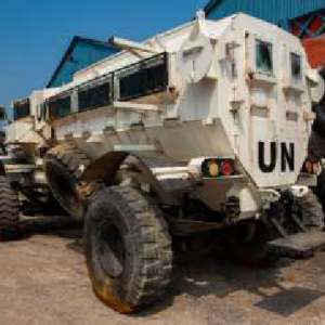 Conqueror Bangalore successfully moves a cargo consisting of arms and ammunition in Nepal for a United Nations project