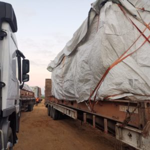 Conqueror Cairo delivers a sensitive and high-value shipment to a special security site in Alexandria, Egypt