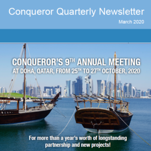 The first edition of Conqueror's 2020 newsletters has been published and available for viewing and downloading!