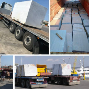 Conqueror Athens moves a breakbulk shipment of 2000 tons from Turkey to Greece