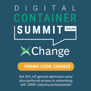 Conqueror offers a discount for its members to join the Digital Container Summit hosted by Container xChange