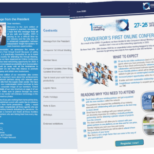 Conqueror's June Newsletter has been published and it is now available for viewing on our website