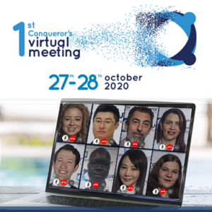 Conqueror's 1st Virtual Meeting is all set to commence on the 27th of October