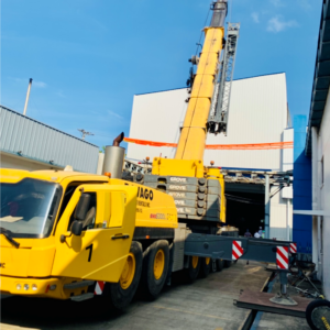 Conqueror Manila and Cebu successfully transports an oversized and overweight break bulk cargo consisting of moulding machine for an infant incubator